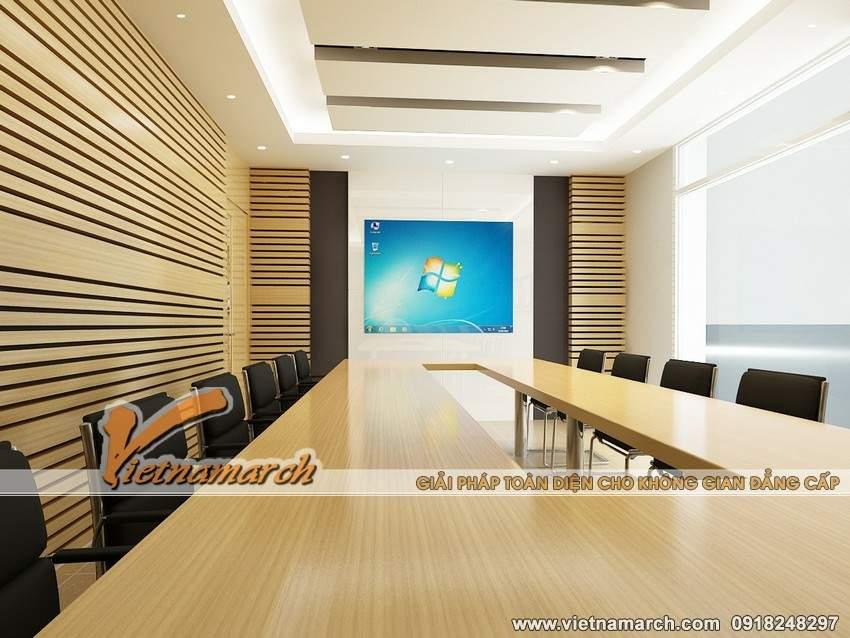 Mẫu thiết kế nội thất phòng họp đẹp hiện đại