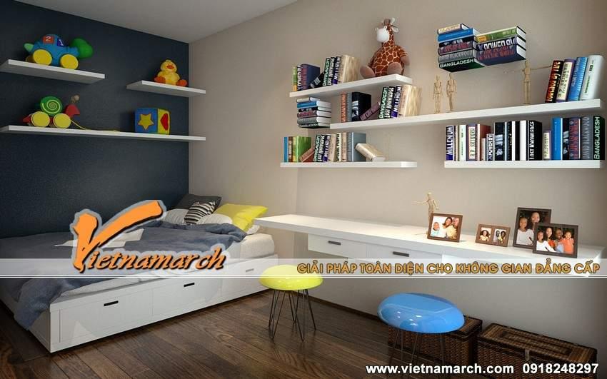 Thiết kế phòng ngủ hiện đại dành cho con
