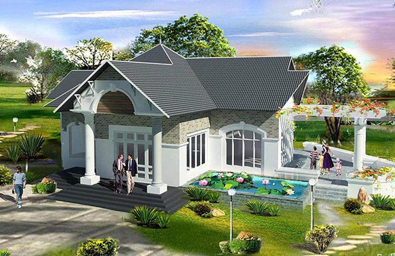 Với gia chủ sinh năm 1984 thì hướng nhà đẹp nên chọn hướng Tây Bắc - kiến trúc phong thủy nhà ở