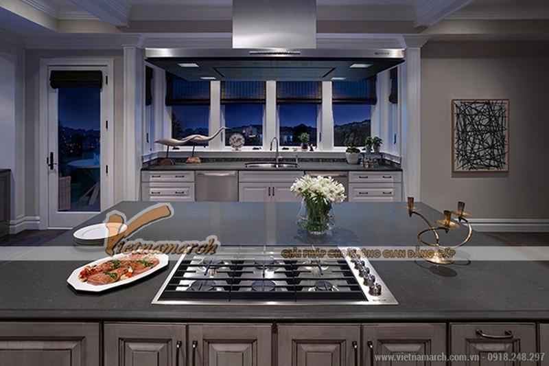 Thiết kế nhà bếp với nội thất cao cấp