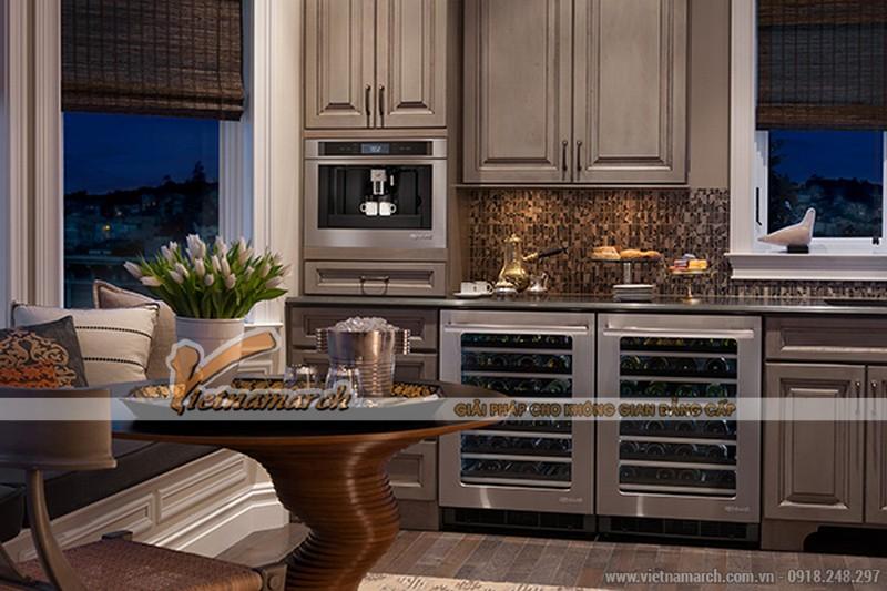 Mẫu thiết kế nhà bếp đẹp hiện đại