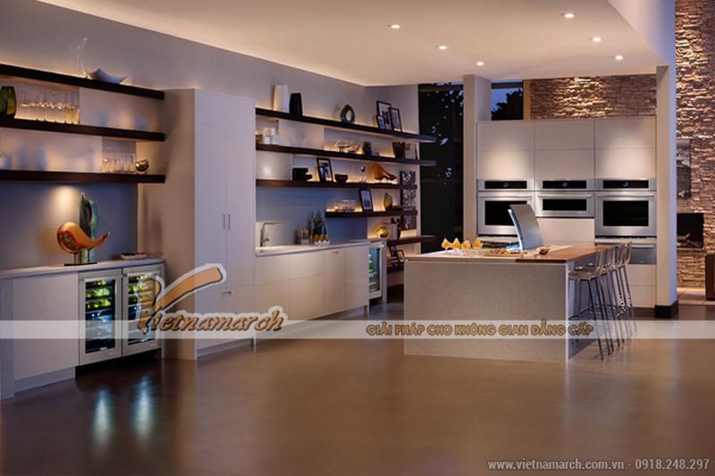 3 mẫu thiết kế nội thất nhà bếp có tầm nhìn đẹp