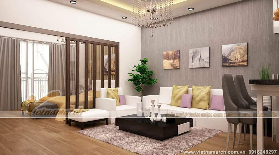 2 Phương án cải tạo nội thất cho căn Căn P2-01 (P2-09, P2-10) chung cư Park Hill – Times City