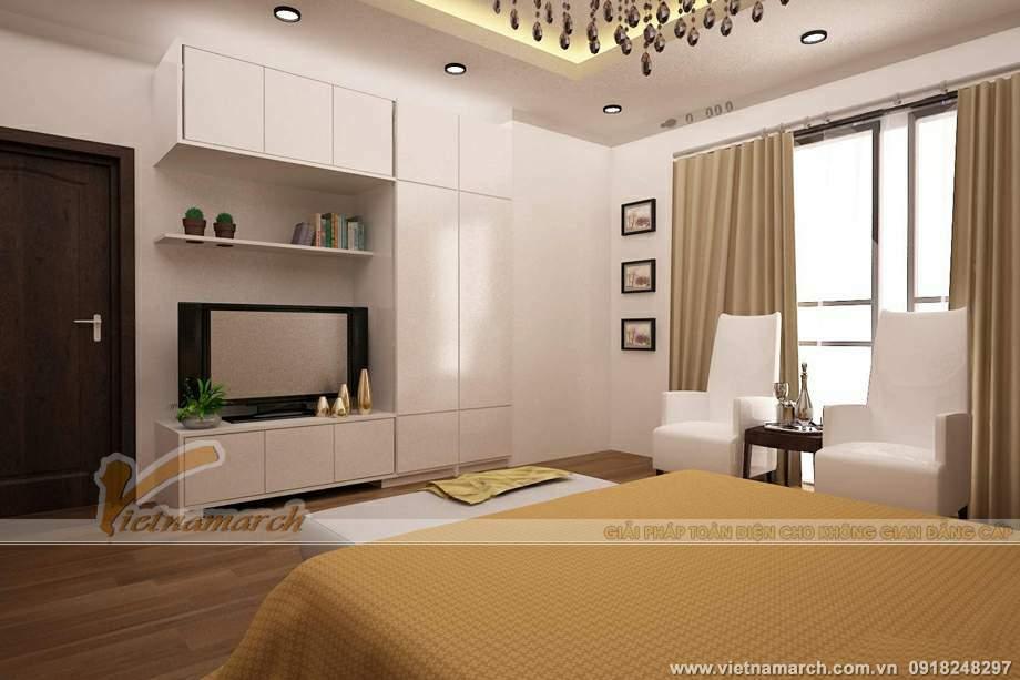 Phòng ngủ rộng rãi, tiện nghi
