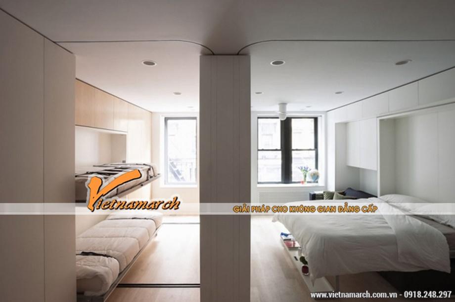 Sử dụng những đồ nội thất được thiết kế thông minh giúp tiết kiệm không gian nhà ở