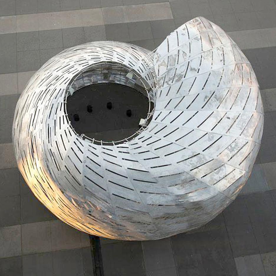 Thiết kế kiến trúc hình vỏ ốc anh vũ