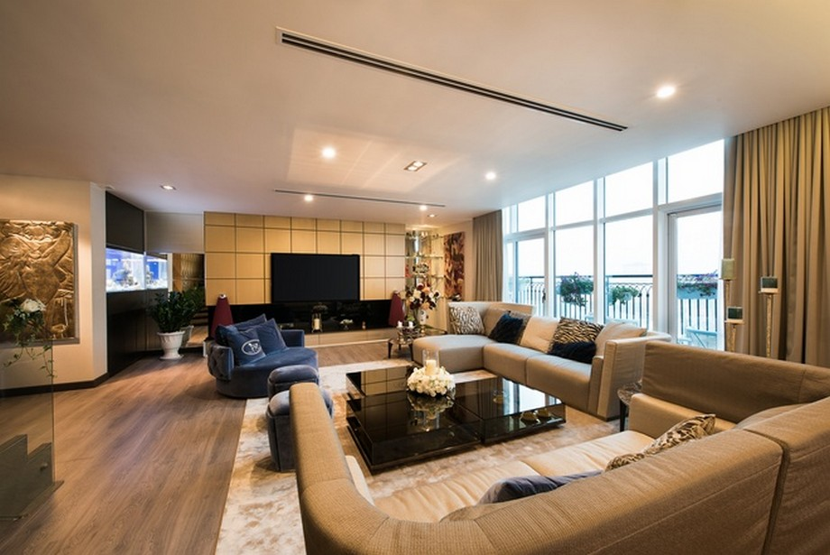 Khám phá bên trong căn hộ Penthouse triệu đô của nữ doanh nhân Hà Thành