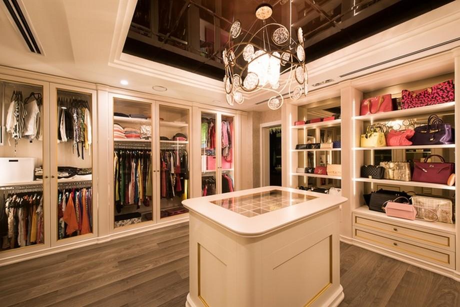 Phòng đựng đồ của chị Thanh Hằng - Mẫu nội thất hiện đại căn hộ PenHouse