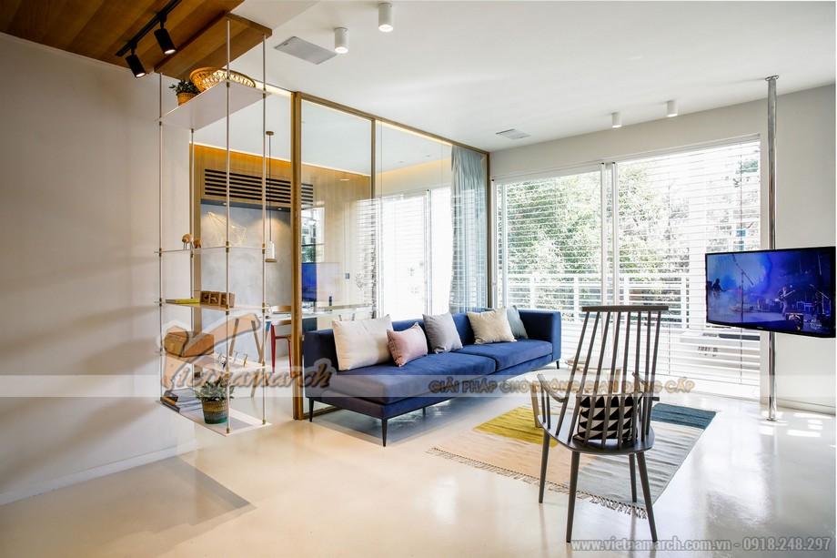Phòng khách đầy ấn tượng với thiết kế nội thất vô cùng độc đáo