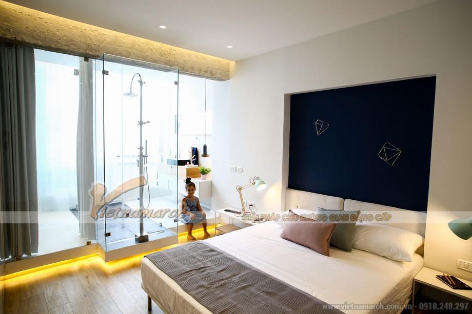 Thiết kế phòng ngủ độc đáo đến từ việc sử dụng màu sắc và đồ nội thất ấn tượng