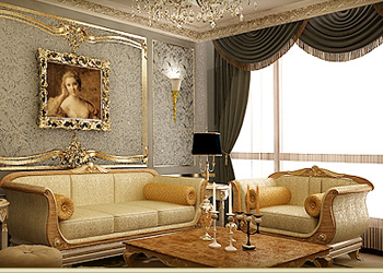 Nội thất tân cổ điển với vẻ đẹp kiêu sa trong căn hộ mẫu Athena chung cư D'.Palais de Louis