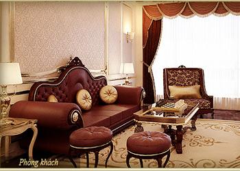 Căn hộ mẫu - D Cupid chung cư D'.Palais de Louis với thiết kế nội thất quyến rũ
