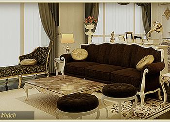 Nội thất sang trọng căn hộ mẫu F Hercules chung cư D'.Palais de Louis – Tân Hoàng Minh