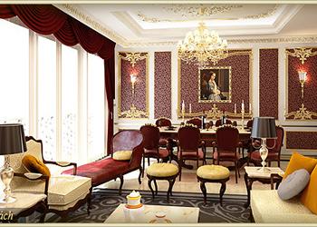 Căn hộ Zeus với nội thất siêu sang trọng tại chung cư D'.Palais de Louis – Tân Hoàng Minh