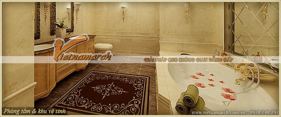 Thiết kế nội thất phòng tắm hoàn mỹ đến từng chi tiết nhỏ trong căn hộ Athena