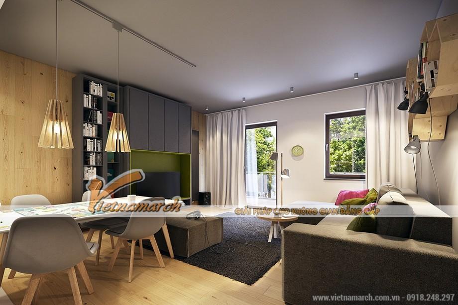 Một vẻ đẹp tự nhiên được tận dụng để góp phần cân bằng sinh thái trong căn hộ Goldmark