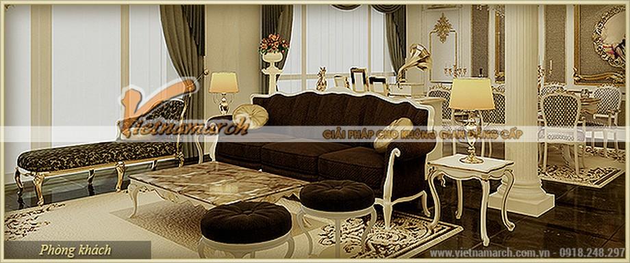 Nội thất căn hộ F Hercules chung cư D'.Palais de Louis – Nguyễn Văn Huyên - Tân Hoàng Minh