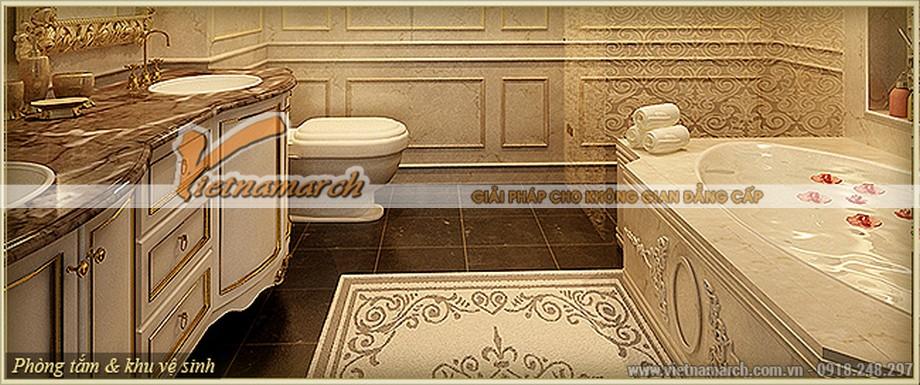 Nội thất phòng tắm kiêu lỳ của căn hộ F Hercules