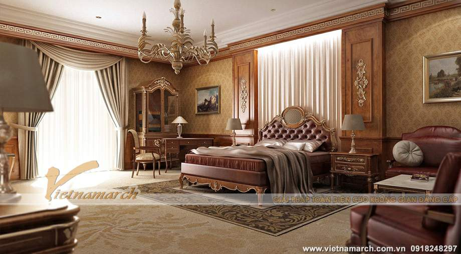 Thiết kế nội thất penthouse Tân Hoàng Minh