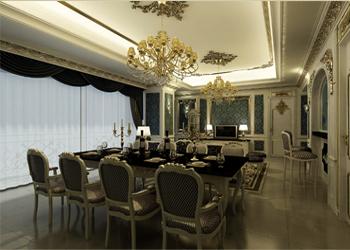 Thiết kế nội thất tân cổ điển trong căn hộ A Venus chung cư D'.Palais de Louis