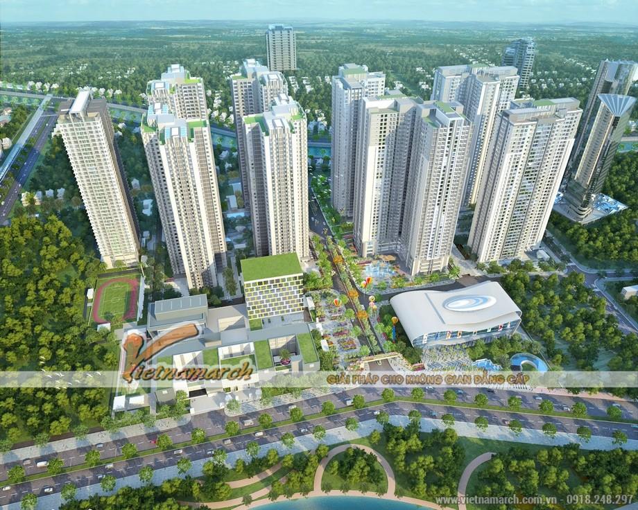 Tổ hợp khu chung cư Goldmark City tại 136 Hồ Tùng Mậu