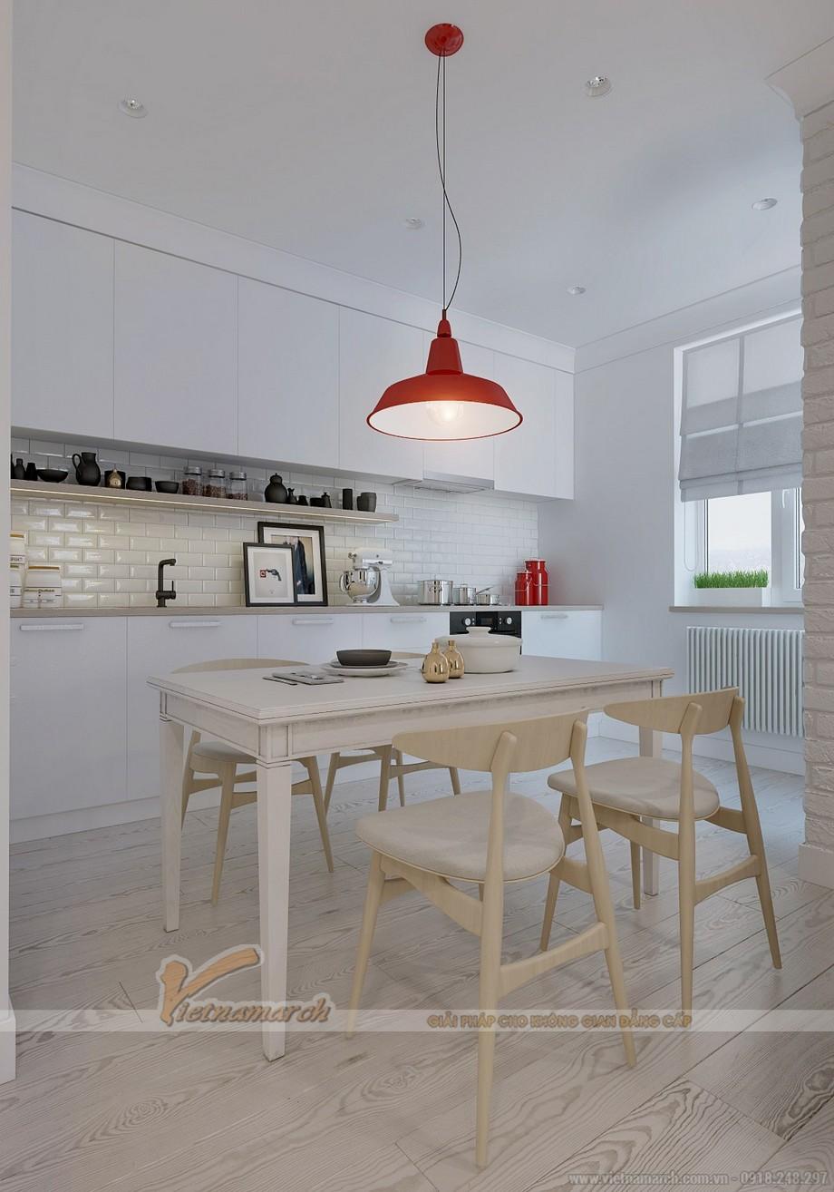 Nhà ăn được được sắp xếp một cách hiện đại, phong cách và sạch sẽ