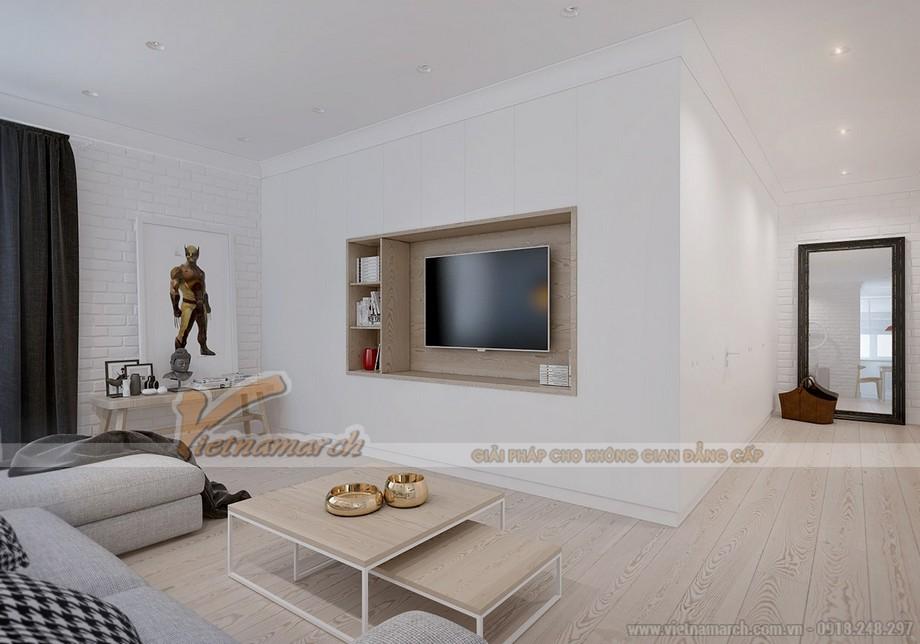 Sự phối hợp hài hòa giữa các đồ vật và màu sắc trong phòng tạo không gian thoáng đãng, tiện nghi và hiện đại