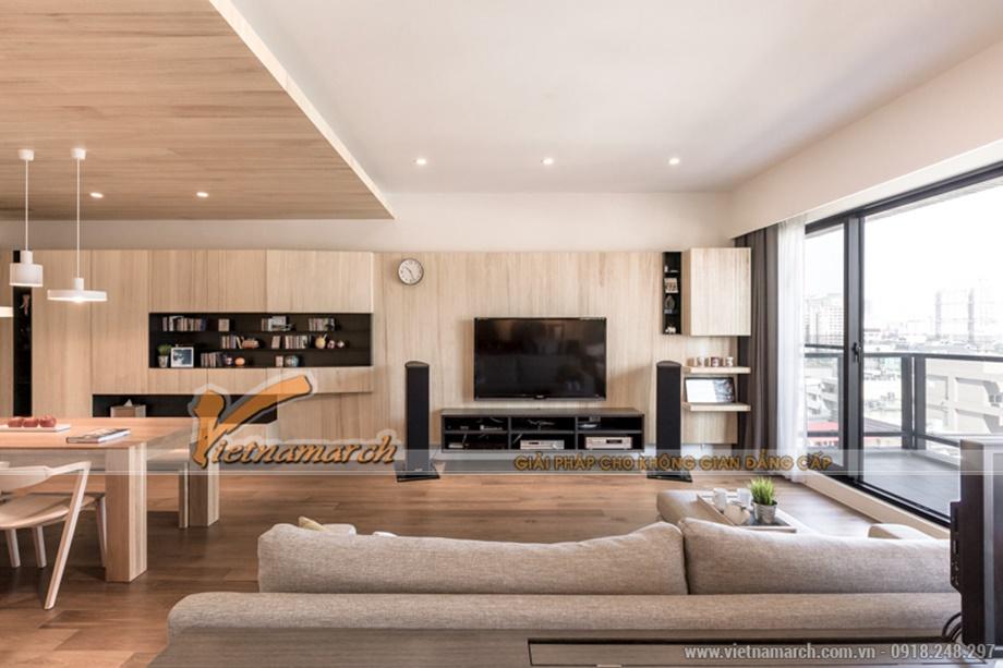 Nhiều đồ đạc được làm từ gỗ tự nhiên