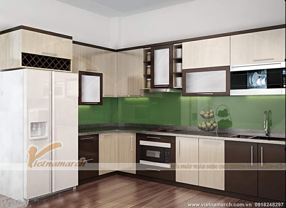 Thiết kế nội thất đẹp, hiện đại trong căn hộ P2-01chung cư Park Hill Times City
