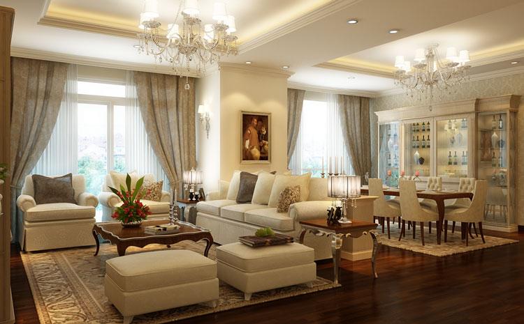 Phương án cải tạo căn hộ B1 chung cư D'. Le Pont D'or – Hoàng cầu 2 ngủ sang 3 ngủ