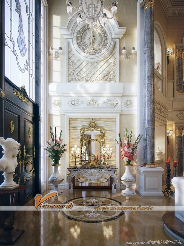 Thiết kế nội thất cổ điển sang trọng trong ngôi biệt thự triệu đô ở Quatar