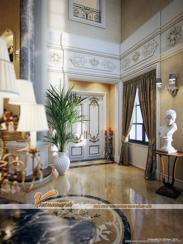 Thiết kế nội thất cổ điển trong biệt thự sang trọng tại Quatar