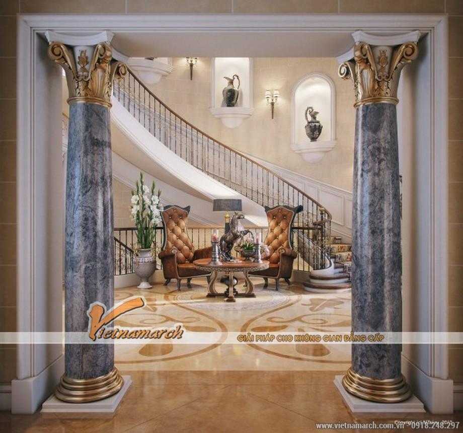 Thiết kế, thi công nội thất cổ điển trong ngôi biệt thự sang trọng ở Quatar
