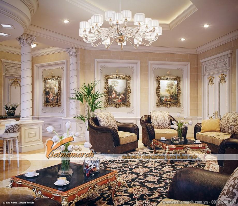 Đồ nội thất cao cấp, kết hợp tinh tế để ra một phong cách tân cổ điển hoàn hảo