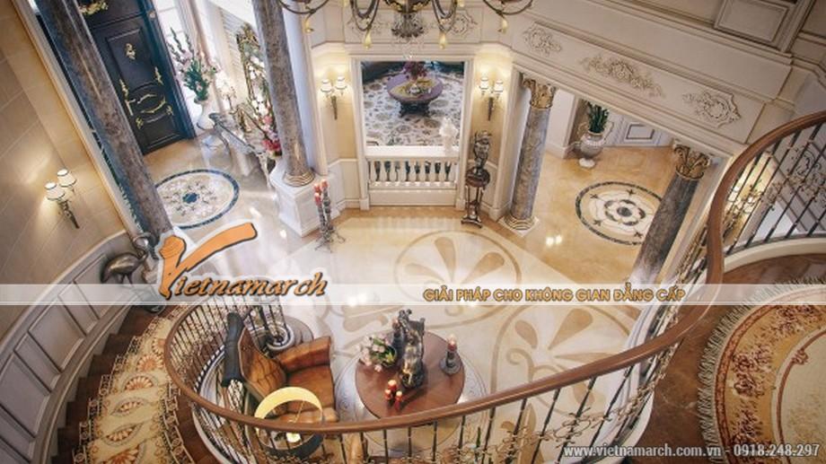 Thiết kế nội thất cổ điển trong ngôi biệt thự triệu đô