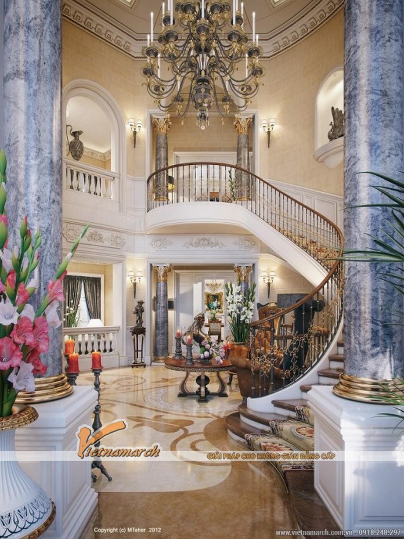 Toàn cảnh nội thất ngôi biệt thự triệu đô ở Quatar