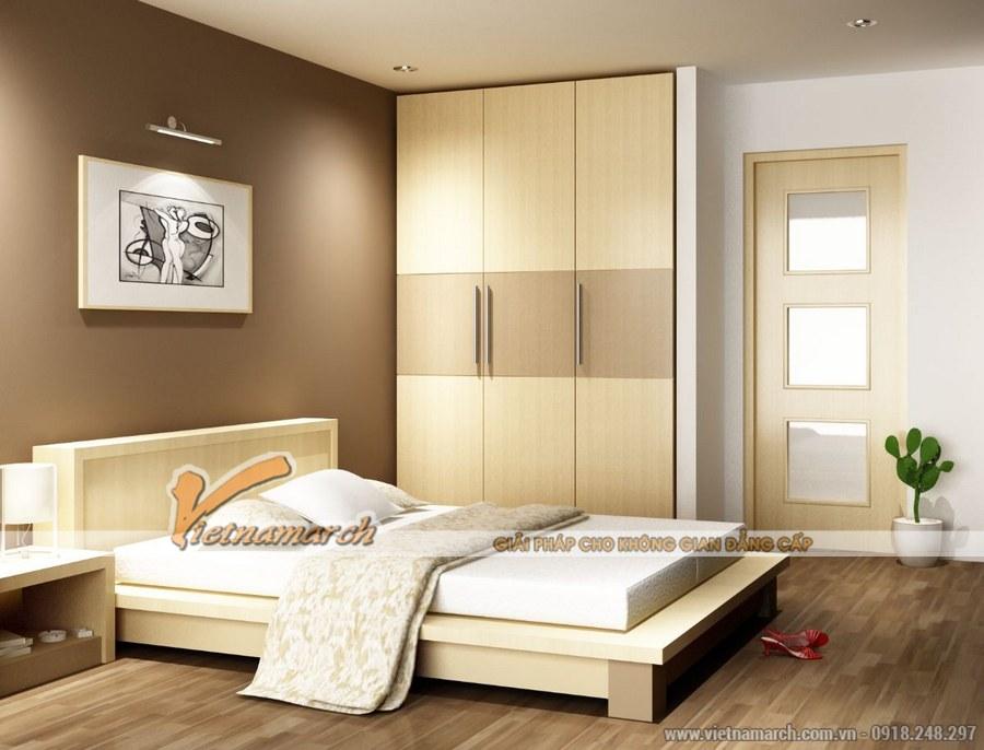 Sử dụng gam màu sáng giúp căn phòng thêm thoáng, rộng hơn