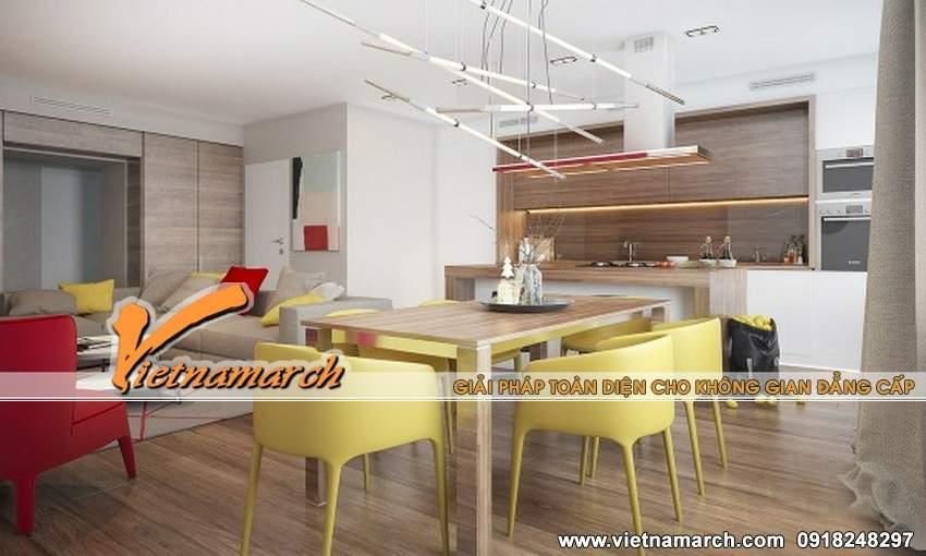 Phòng ăn ấn tượng với những thiết kế nội thất độc đáo