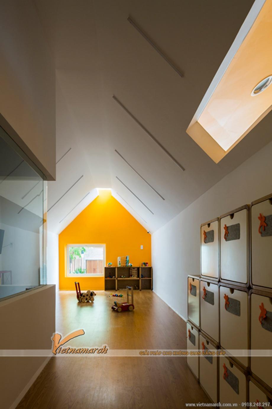 Kiến trúc hiện đại và thiết kế nội thất phá cách trong ngôi trường này chính là điều hấp dẫn các em nhỏ