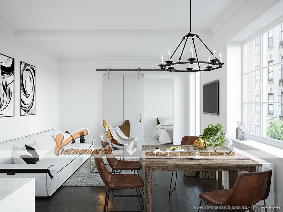 Thiết kế nội thất phòng ăn trở về thế kỉ những năm 90