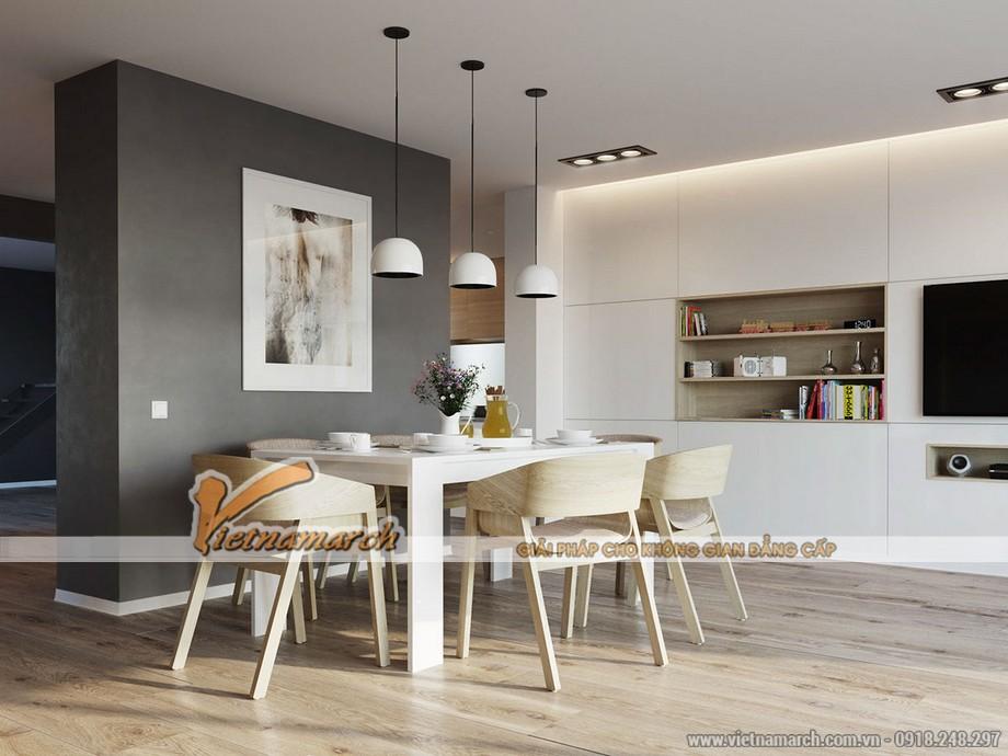 Thiết kế nội thất phòng ăn mang phong cách Bắc Âu