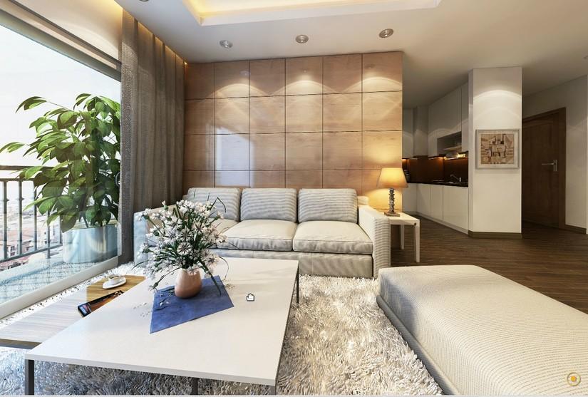 Thiết kế căn hộ mẫu 86 m2 park hill Times City