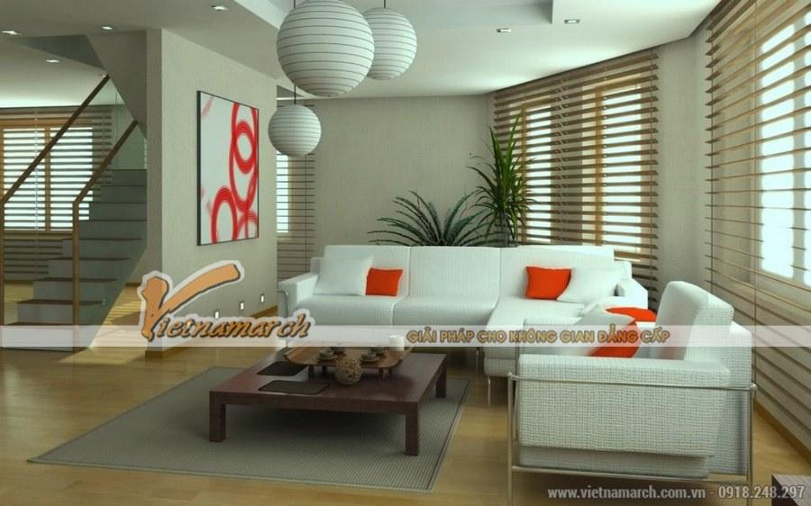 Tận dụng tối ưu ánh sáng tự nhiên là một trong những đặc điểm của thiết kế nội thất phòng khách hiện đại
