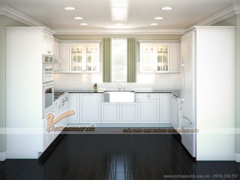 Thiết kế tủ bếp hình chữ U
