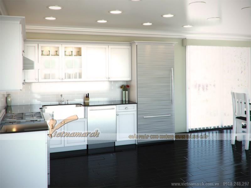 Mô hình thiết kế nội thất nhà bếp phổ biến