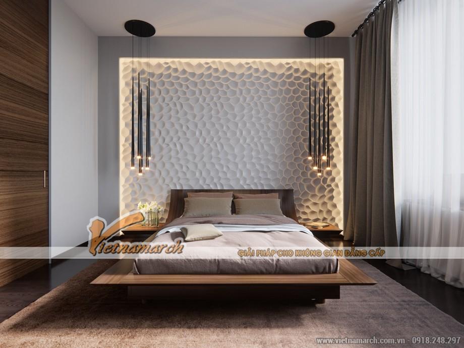 Thiết kế nội thất phòng ngủ độc đáo trong từng điểm nhấn