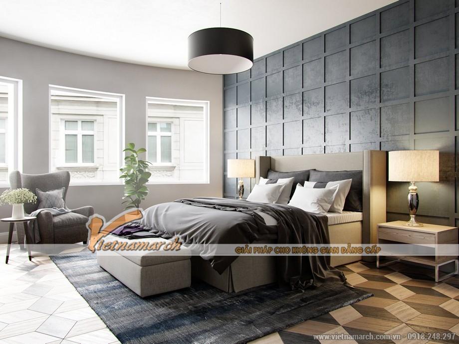 Thiết kế nội thất phòng ngủ ấm áp là xu hướng của những đôi vợ chồng cá tính trong năm 2016