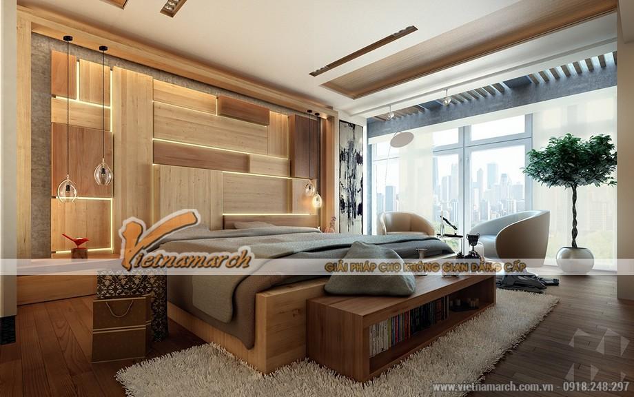 Thiết kế nội thất phòng ngủ xu hướng 2016 hướng đến phong cách gỗ tự nhiên