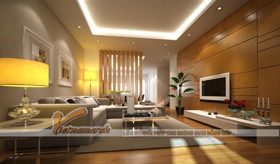 Thiết kế nội thất phòng khách độc đáo mới lạ- một căn phòng tràn ngập ảnh sáng