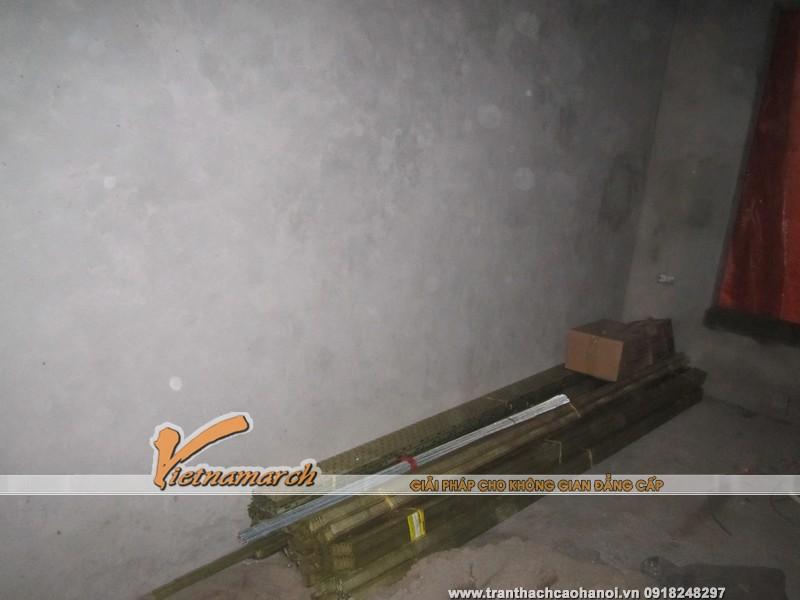 Vật tư thạch cao được mang đầy đủ tới công trình